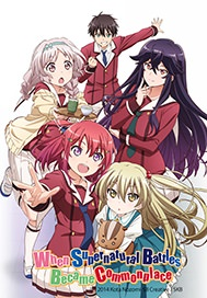 When Supernatural Battles become Common Place Key Art